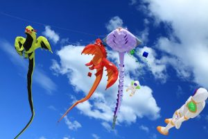 Animal shape kites