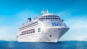 P&O Cruise Ship